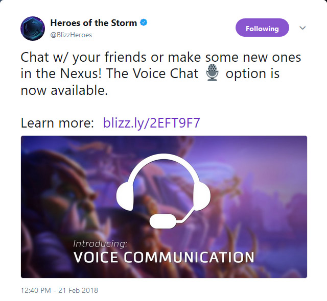 voice support in-game